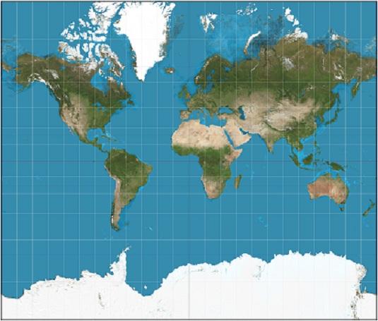 Projection Mercator